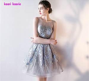 aliexpresscom buy robe de soiree courte short prom With robe dorée courte
