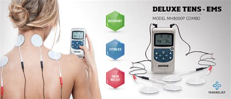 Tens Muscle Stimulator Machine Premium