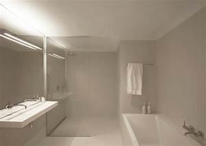 la salle de bains blanche design en 75 idees With salle de bain design avec décorations de noel blanches
