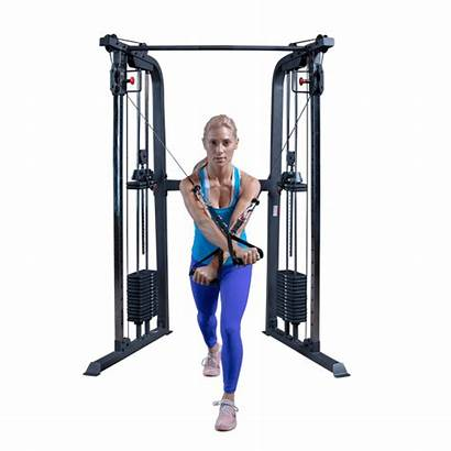 Powerline Functional Trainer Solid Bodysolid Gym Cable