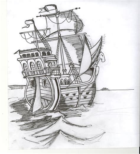 Dessin Bateau Pirate Noir Et Blanc by Dessins En Couleurs 224 Imprimer Bateau Num 233 Ro 14921
