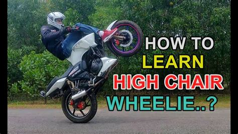 How To Learn High Chair Wheelie, The Best And Easy Bike