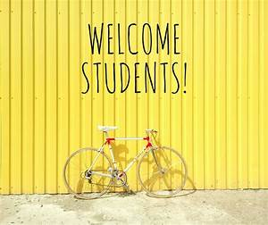 Welcome, Students