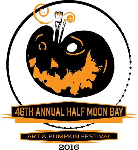Half Moon Bay Pumpkin Festival by Half Moon Bay Art Amp Pumpkin Festival Logo Design Contest