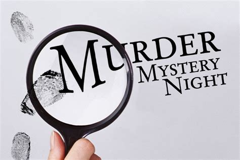 Murder Mystery Night Meetinghow We Did It  Night Vision