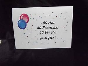 Faire Part Anniversaire 60 Ans : faire part anniversaire val creation val creation beuvry ~ Edinachiropracticcenter.com Idées de Décoration