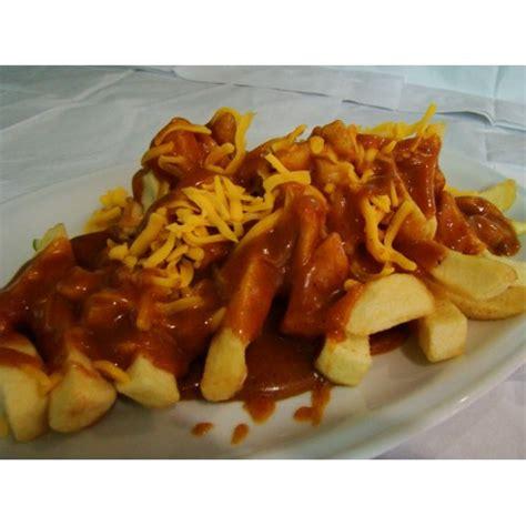 irish curry cheese chips food ireland irish recipes