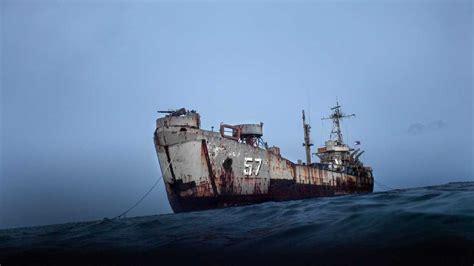Don S Boat Landing Erath La by Abandoned Navy Ships At Sea 2016 Ghost Big Ships