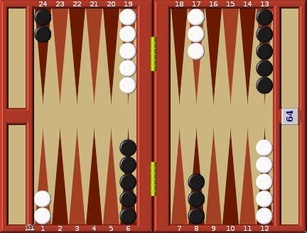 Backgammon Board Set Up Diagram
