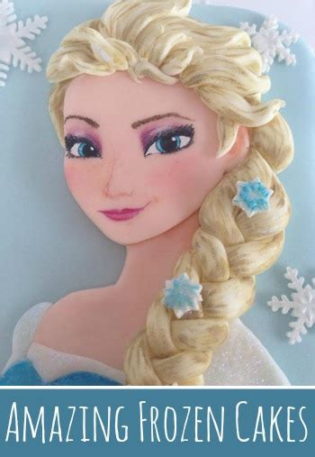 amazing frozen inspired cakes pretty  party