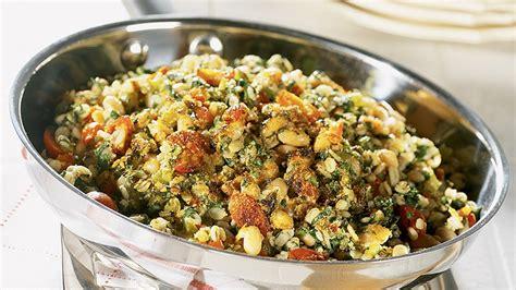 barley  swiss chard skillet casserole diabetes