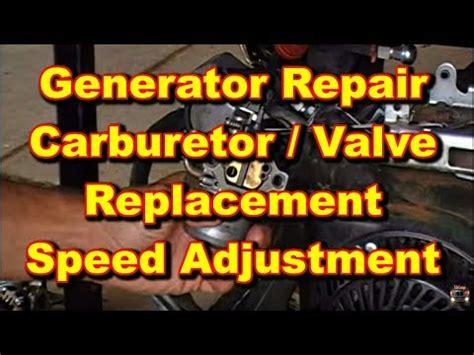 generator repair coleman powermate youtube