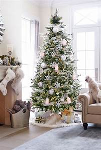 37, Awesome, Silver, And, White, Christmas, Tree, Decorating, Ideas, U0026, Inspirations