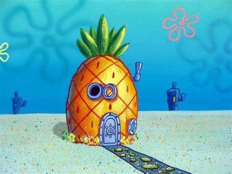 Spongebob's House View Original Production Background