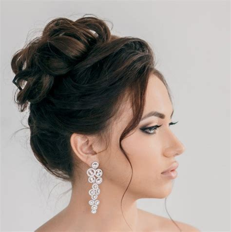 idees romantiques de coiffure mariage cheveux longs