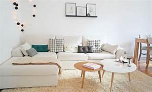 Canapé D Angle Petit Espace : canap d 39 angle comment le placer au salon c t maison ~ Teatrodelosmanantiales.com Idées de Décoration