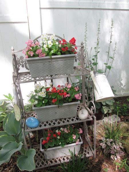 bakers rack   garden thriftyfun