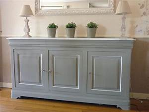 Meuble Repeint En Gris Perle : peindre un meuble en bois toutes nos astuces super d co ~ Dailycaller-alerts.com Idées de Décoration