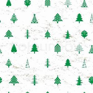 Abstract christmas tree pattern Stock Vector Colourbox
