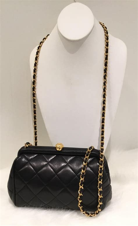 chanel quilted bag  gold chain vintage    stdibs