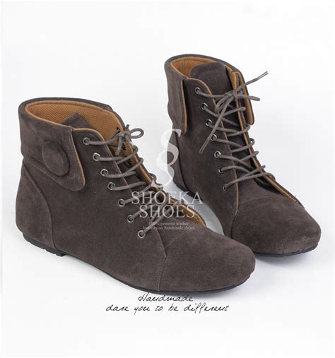 kickers safety boots sepatu boot wanita model korea holidays oo