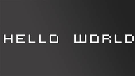 Hello World!  Ra Playing