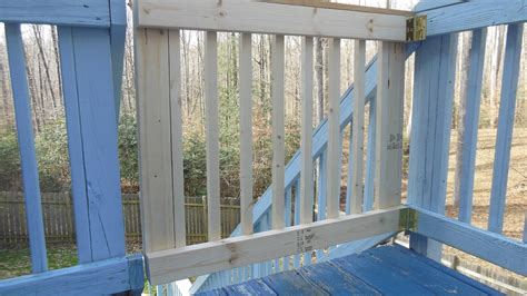 building  deck gate youtube