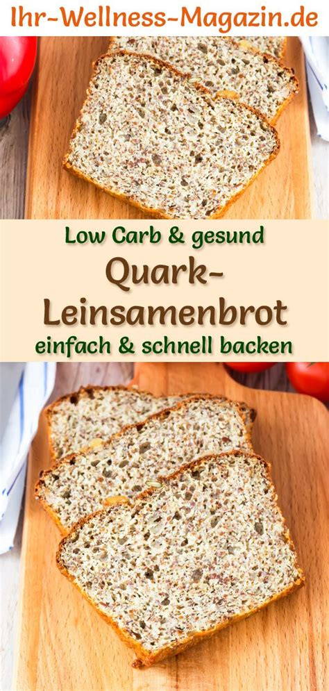 leinsamenbrot ohne kohlenhydrate low carb quark leinsamenbrot rezept zum brot backen in 2019 mandelmehl flaxseed bread low