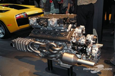 lamborghini murcielago  engine  north american
