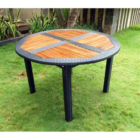 ensemble table chaise jardin ensemble table ronde de jardin en teck et chaises de