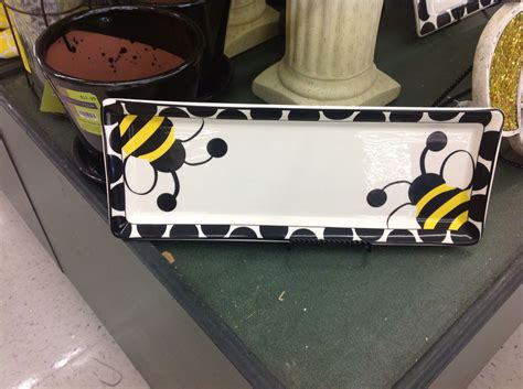 bumble bee platter  hobby lobby relief society ideas