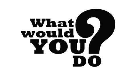 What Would You Do? #grantchat #grantchat