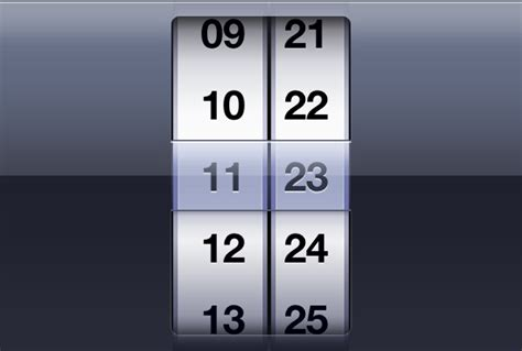 datepicker html template android timepicker plugin for html5 jquerymobile web app