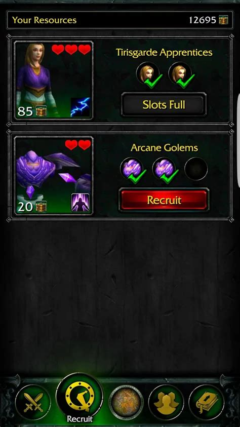 wow on android world of warcraft legion s official companion app is up