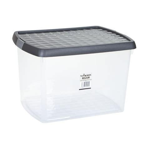wham plastic storage clip box 21 5 litre buy online at
