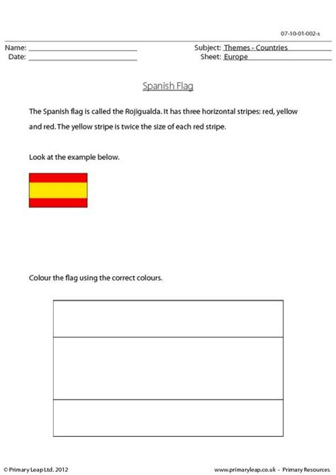 spanish flag colour  spanish flag correctly age