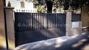 Portail Sur Mesure : portail en fer avec son portillon sur mesure m tallerie ~ Melissatoandfro.com Idées de Décoration