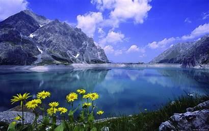 Resolution Lake Walldiskpaper Domenic Landscape October Under