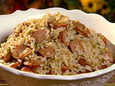 sauge cuisine rice with smoked sausage recipe the neelys food