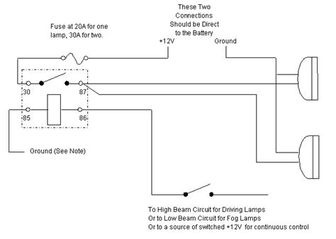 auxiliary l wiring