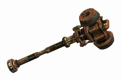 Fallout Hammer Weapons Oh Vegas War Weapon