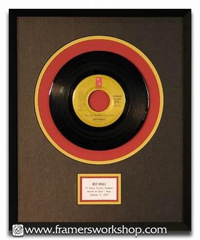 Vinyl Records Framed Record Frame Inch Box