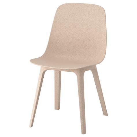 chaise ikea bois odger chair white beige ikea
