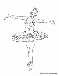 26 dessins de coloriage Danseuse à imprimer