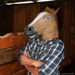 Horse Head Mask - The original Archie McPhee Horse Mask