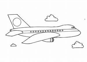free printable airplane coloring pages for preschoolers ...