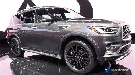 2019 Infiniti Qx80 Limited  Exterior And Interior