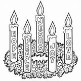 Advent Wreath Coloring Template Printable Catholic Printables Activity Colouring Children Craft Candles Meaning Colour Activities Candle Colors Templates Preschool Credit sketch template