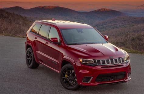 jeep grand cherokee release date trackhawk specs