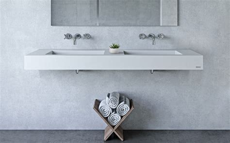 Bathroom Counter Revit by Custom Concrete Bathroom Sinks Trueform Concrete